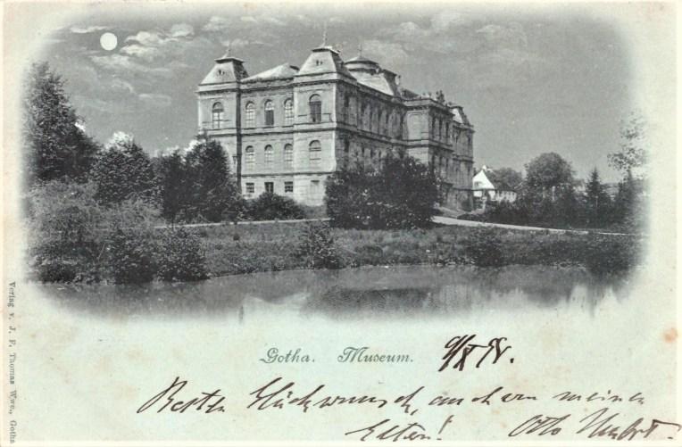 Nr. 9: 1898, Museum, Verlag J.F. Thomas Wwe., Gotha
