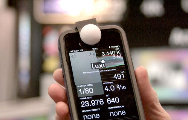 incident light meter