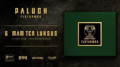 "Photo of Paluch ""Mam ten luksus"" ft.  Gedz, Kobik prod. Michał Graczyk"