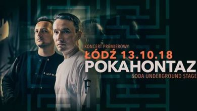 Photo of Pokahontaz w Łodzi | REset Tour