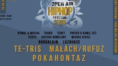Photo of Open Air Hip Hop Festival – Pokahontaz x Małach/Rufuz x Te-tris
