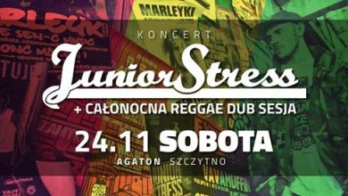 Photo of Junior Stress & Pablo27 + Reggae Dub Sesja / Agaton – Szczytno