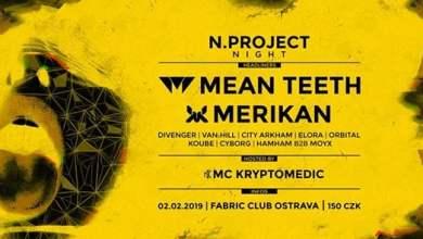 Photo of N.project Night w/ Mean Teeth + Merikan hosted by MC Kryptomedic