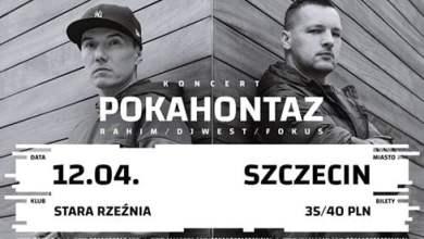 Photo of Koncert Pokahontaz w Szczecinie