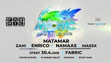 Photo of Mácháč club tour with Matamar @Fabric 30-4-2019