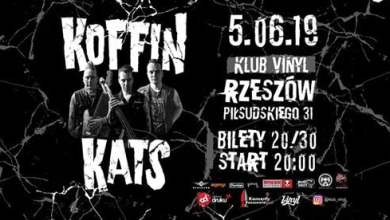 Photo of Koffin Kats (USA) • Rzeszów • Klub Vinyl