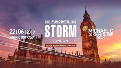 Photo of Fabric Invites: Storm London @Fabric 22-6-2019