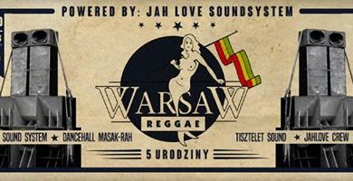 Photo of Zapraszamy na 5 urodziny Warsaw Reggae d…
