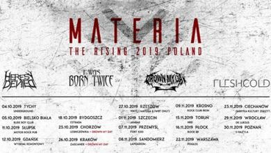 Photo of Materia – The Rising Tour 2019 – Rzeszów Klub Vinyl