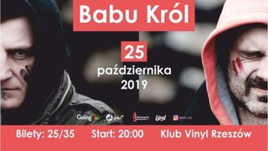 Photo of Babu Król • Klub Vinyl • Rzeszów