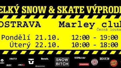 Photo of Velký snow & skate výprodej – Ostrava!