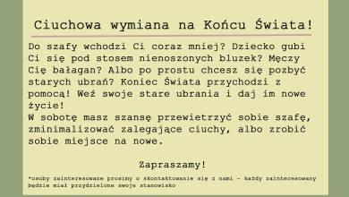 Photo of Sobota 30.11.19 !  Więcej info w wydarze…