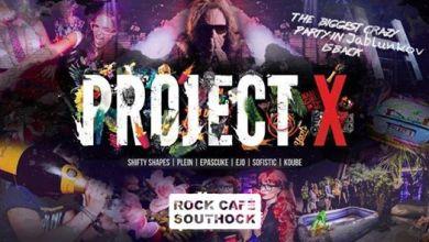 Photo of Project X – Rock Café Southock