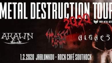Photo of Jablunkov METAL Destruction TOUR Algaes, Endless drain, Arawn