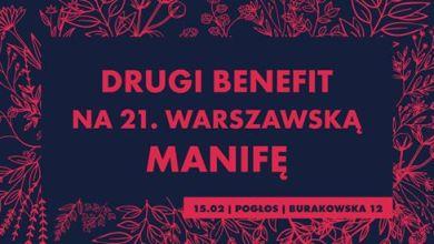 Photo of Drugi benefit na 21. warszawską Manifę