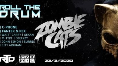 Photo of Roll the Drum w/ Zombie Cats
