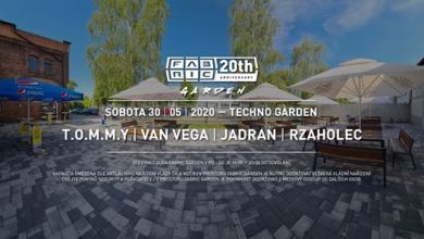 Photo of Techno Garden @Fabric 30-5-20