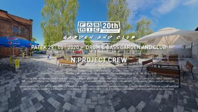 Photo of D&B Garden and Club w/ N.Project @Fabric 29-5-20