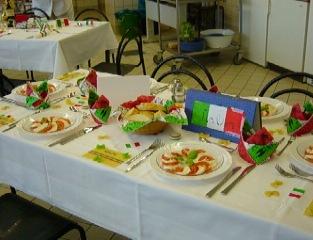 Tischdeko Italienischer Abend Nxsone45