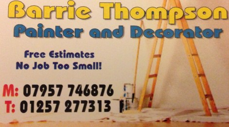 Painter Decorator Chorley