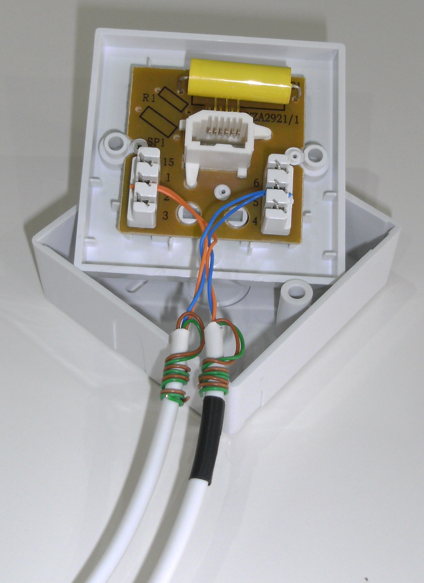 Telephone Master Socket Wiring - Information Of Wiring Diagram •