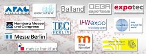BTG Messe-Spedition GmbH - Referenzen