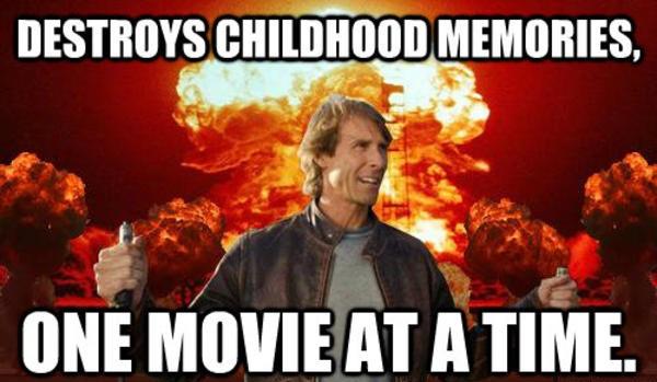 Michael Bay Destroys Childhood