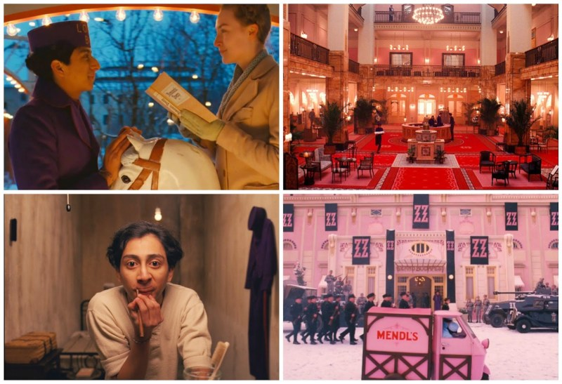 Grand Budapest Hotel Collage