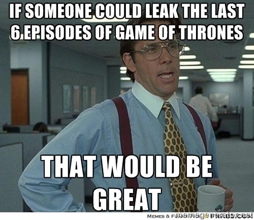 Leak GoT