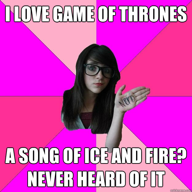 Song of Ice and Fire Nerd Rage