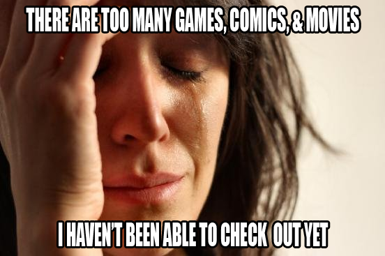 Too many comic Book Movies