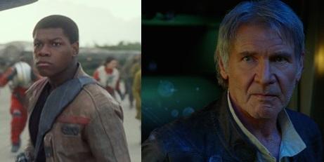 Finn & Han Solo