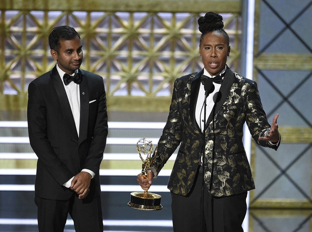 Aziz Ansari, Lena Waithe, Master of None - Emmys 2017