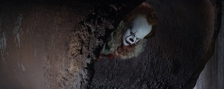 IT 2017 Pennywise in Sewer pipe - BTG Lifesetyle
