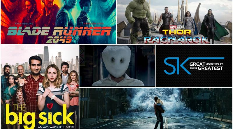 Ster Kinekor October Releases - Thor Ragnarok, THe Big Sick, Geostorm, Blade Runner 2014 and More
