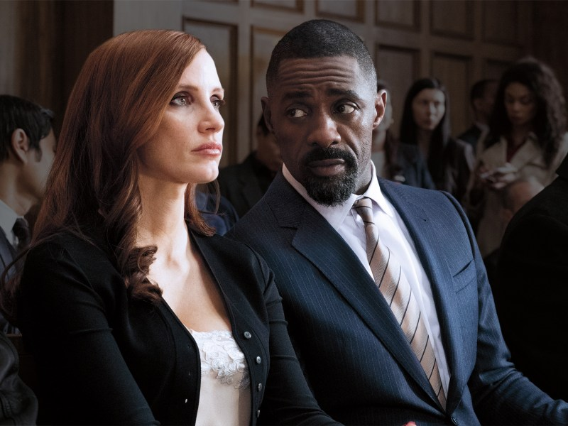 Idris Elba - Jessica Chastain - Molly's Game