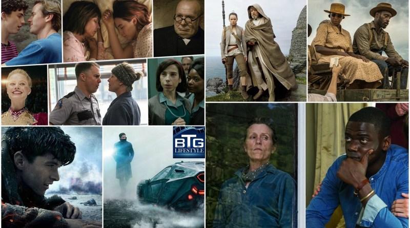Oscars 2018 Nominations - BTG Lifestyle - Leading Films