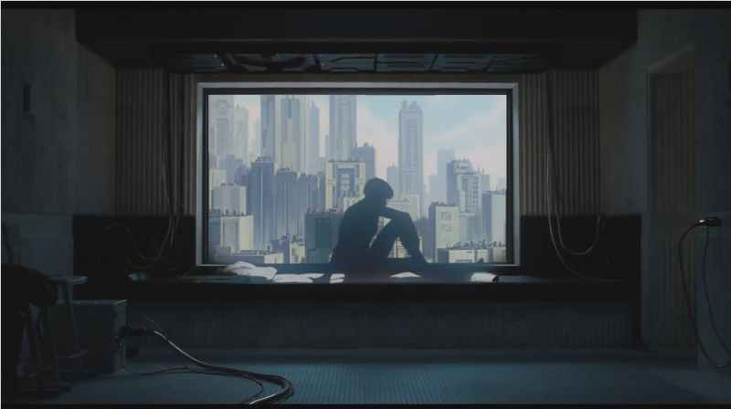 Ghost in the Shell Window View - BTG Lifestyle