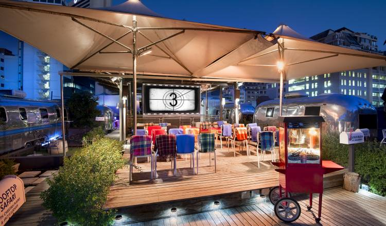 The Pink Flamingo Rooftop Cinema - Alternative Cinema SA - BTG Lifestyle