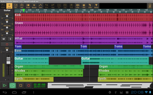 تطبيق Audio Evolution