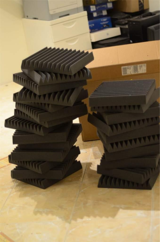 الاسفنج الصوتي من شركة اوراليكس auralex acoustic foam