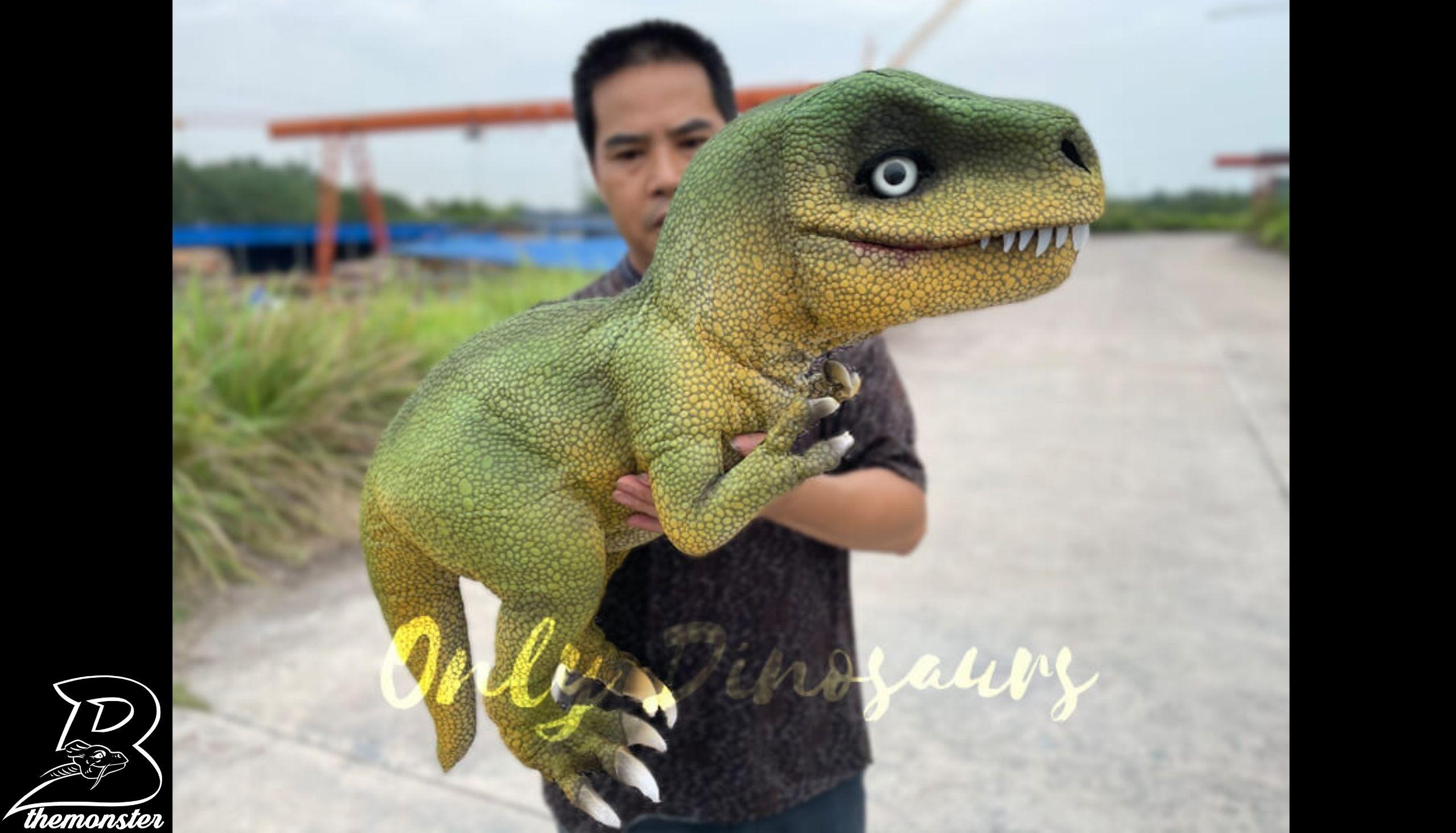 Adorable T-Rex Hand Puppet in vendita sul Bthemonster.com