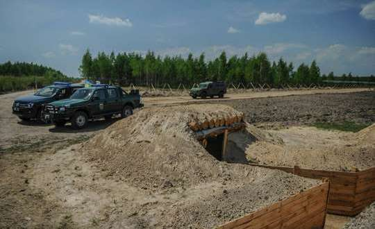 On the construction of fortifications prevented the waste of money in Zaporozhye.
