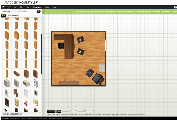 Autodesk's HomeStyler Layout Tool For Office