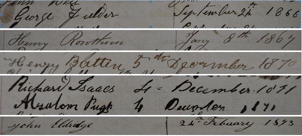 Southampton signatures
