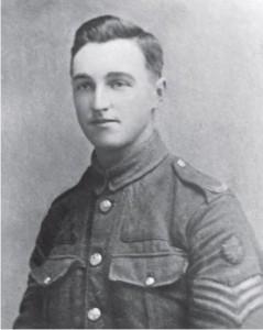 William Huddart in army uniform