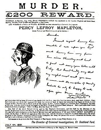 Mapleton Wanted Poster 27061881