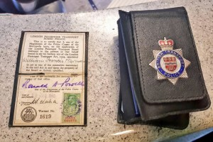 William Francis NEWMAN warrant card