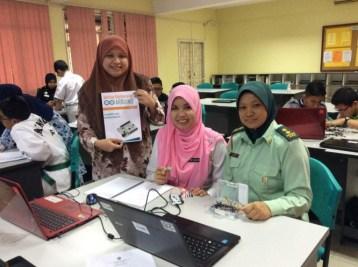 Guru-guru yang mengikuti kursus Arduino