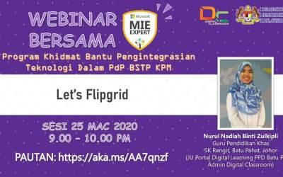 Webinar : Jom Flipgrid Malam Ini
